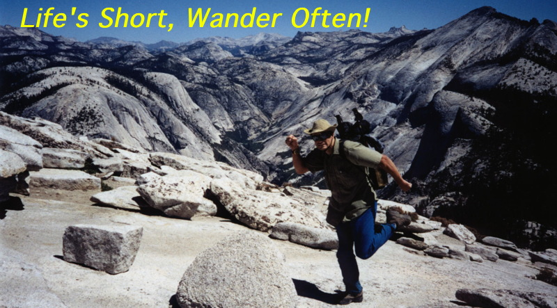 Life's Short, Wander Often!